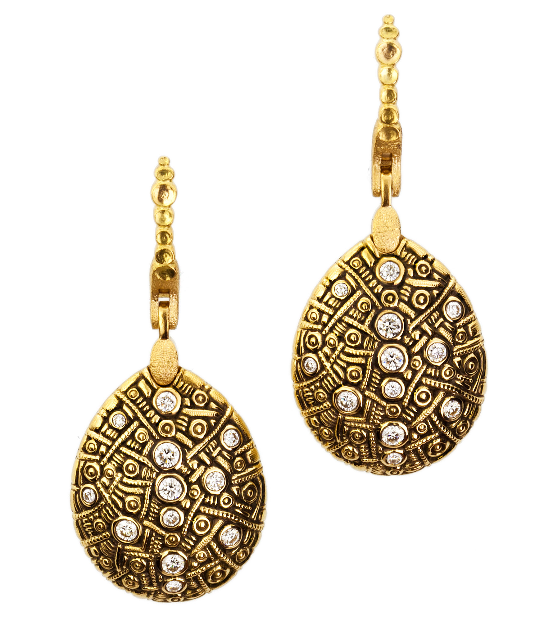 earrings sofi of mother with stud clover pearl img product gold plated